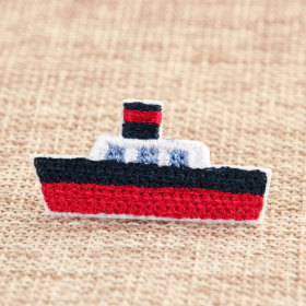 The Warship Custom Embroidered Patches