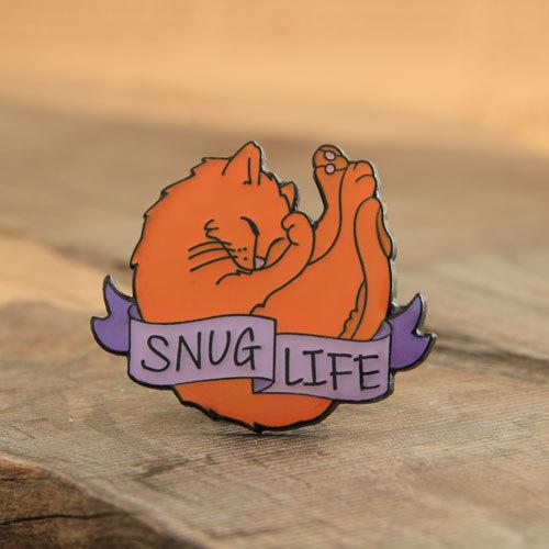 Snug Life Custom Lapel Pins