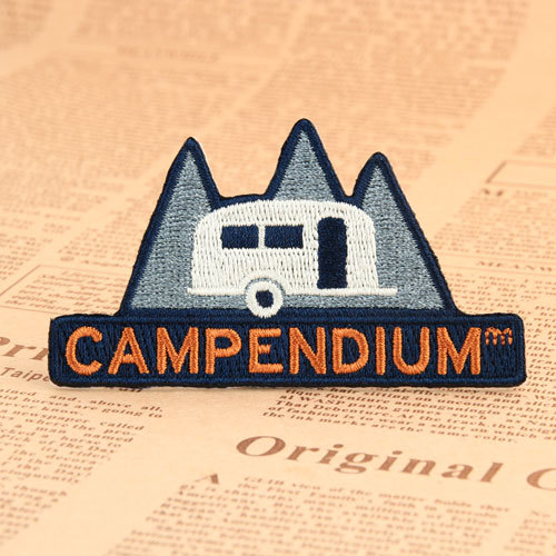 Campendium Embroidered Patches