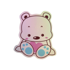 Lovely Bear Laser Stickers