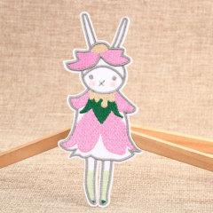 Pink Rabbit Cheap Custom Patches