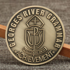 GRG School Custom Made Challenge Coins