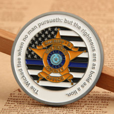MCSO Police Challenge Coins