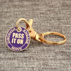 Pass It On Cheap Custom Keychains