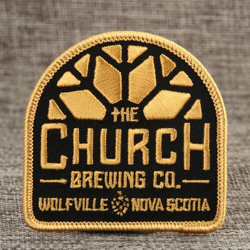 The Church Brewing CO Sewn Patches