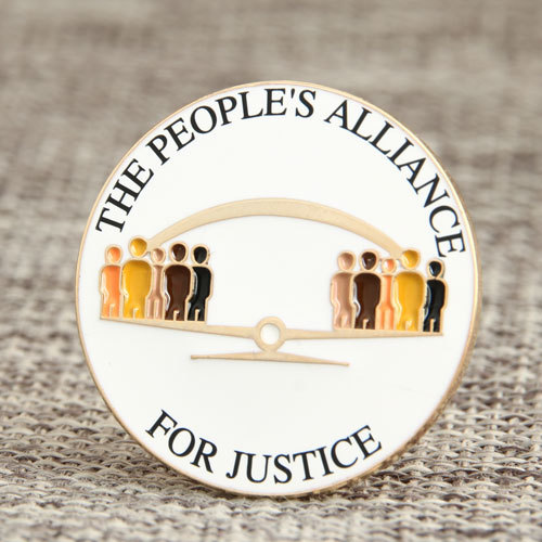 The People Alliance Pins
