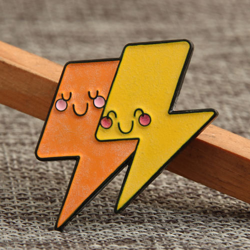 Two-Color Lightning Pins
