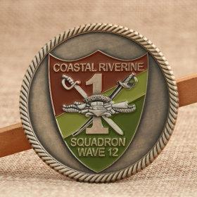 CORISQ Navy Challenge Coins