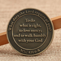 Bible Gateway Personalized Coins