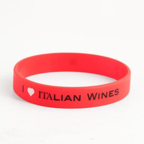 I Love Italian Wines Simply Wristbands