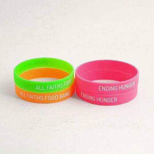 All Faiths Food Bank Wristbands