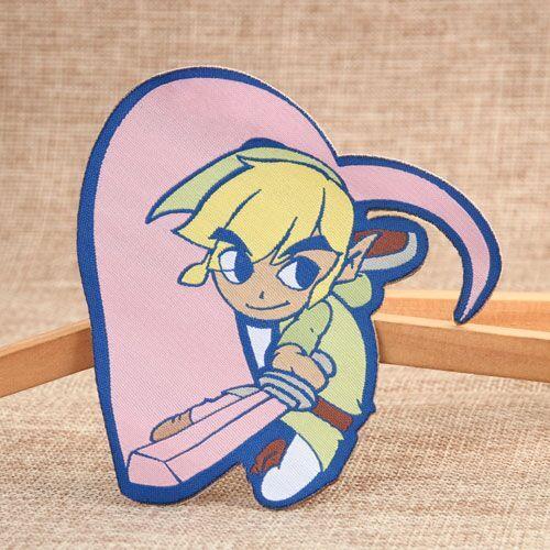 KungFu Boy Custom Patches