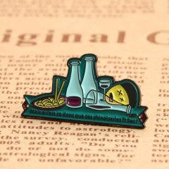 Abstinence Custom Enamel Pins