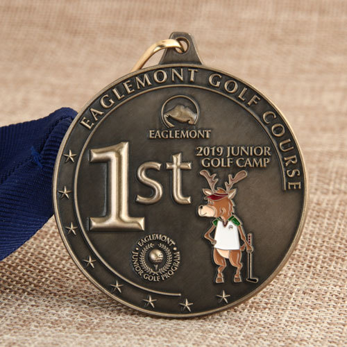 Custom Golf Medals