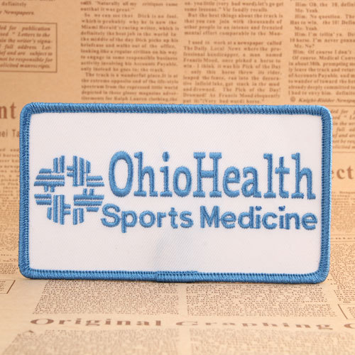 Ohio Health Sports Medicine Embroidered Patches