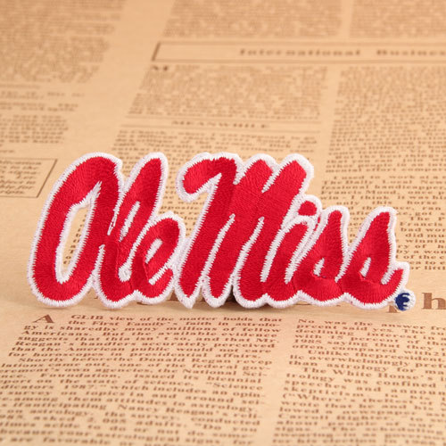 Ole Miss Custom Patches No Minimum