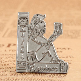 Readers Custom Lapel Pins