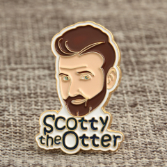 Scotty the Otter Lapel Pins