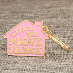 Love Shack Custom Metal Keychains