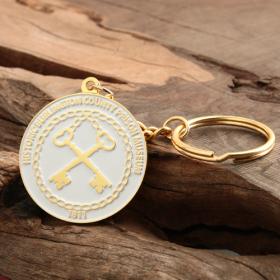 Prison Museum Cheap Custom Keychains