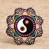 Taiji Bagua Custom Lapel Pins