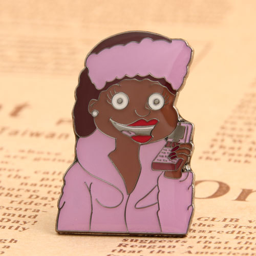 The Calling Woman Pins