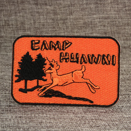 Camp Huawni Embroidered Patches