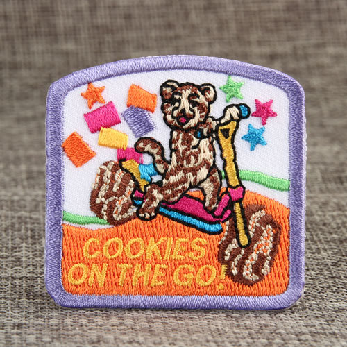 COOKIES ON THE GO Custom Made Patches
