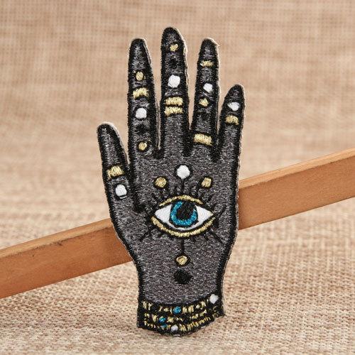 The Khamsa Custom Sew on Patches