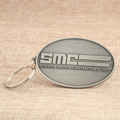 SMC Personalized Keychains No Minimum