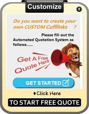 cufflinks online ordering system