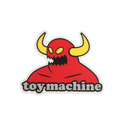 Red Toy Machine Stickers