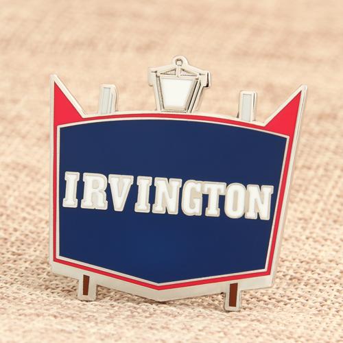 Custom Irvington Enamel Pins