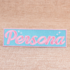 Persona Custom Embroidered Patches