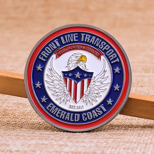 Front Line Transport Quality Challenge Coins