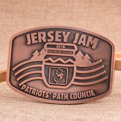 Jersey Jam Belt Buckles