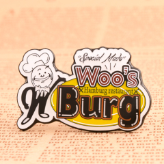 Woo's Burg Custom Lapel Pins
