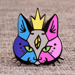 Cat Custom Hard Enamel Pins