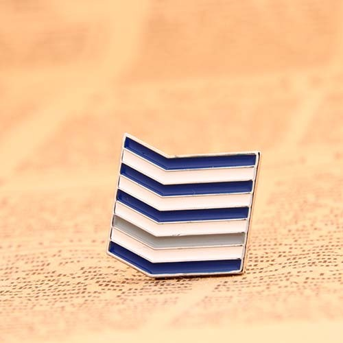 Sailor's Striped Lapel Pins