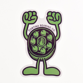 Cortina Bearings Custom Stickers