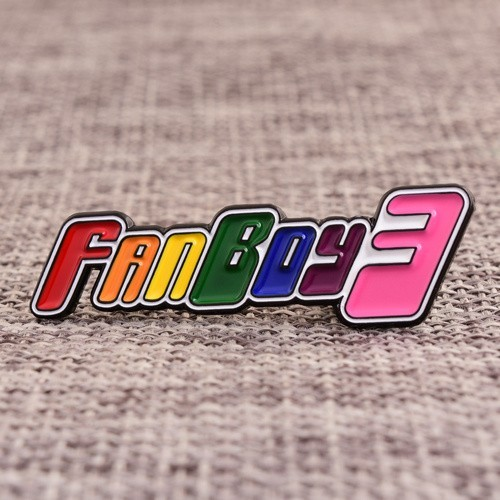 Fanboy3 Quality Lapel Pins