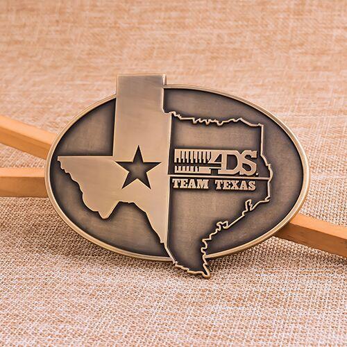 Team Texas Belt Buckles