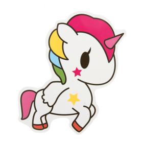 White Unicorn Custom Stickers
