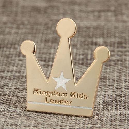 Kids Leader Custom Lapel Pins