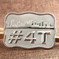 4T Silver Belt Buckles