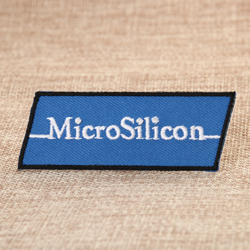 MicroSilicon Custom Sew on Patches