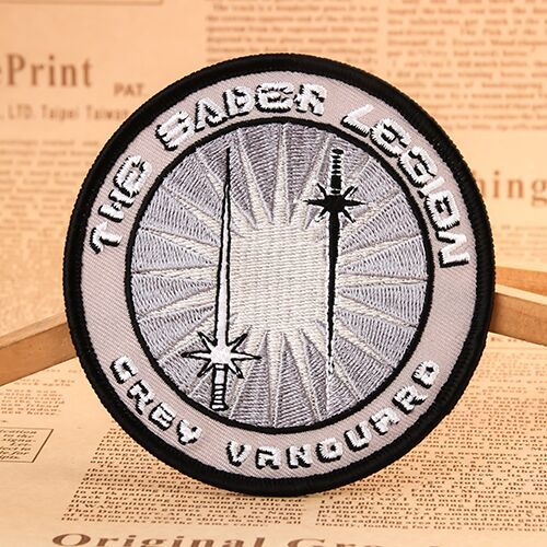 The Saber Legion Embroidered Patches
