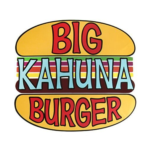 Big Kahuna Burger Stickers