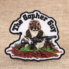 Gopher Custom Sew On Patches