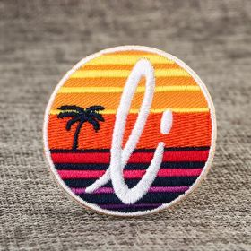 Scenery Custom Embroidered Patches No Minimum